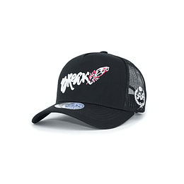 Gorra Trucker Double AA - Break - Black
