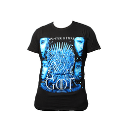 Polera Game of Thrones - Winter is Here