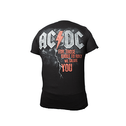 Polera AC/DC For Those About to Rock - We Salute You