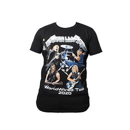 Polera Metallica - World Wired Tour 2020