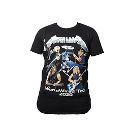 Polera Metallica - World Wired Tour 2020