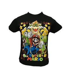 Polera Super Mario
