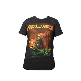 Polera Helloween Straight Out of Hell