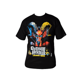 Polera Guitar Hero III - Legends Of Rock