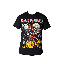 Polera Iron Maiden - The number of the beast