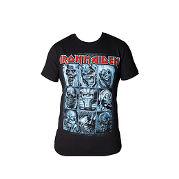 Polera Iron Maiden - The History of eddie