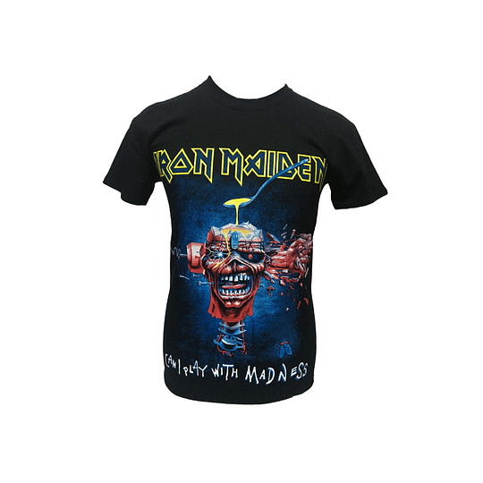 Polera Iron Maiden Can i play with madness