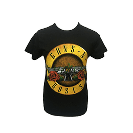 Polera Guns N´ Roses Distressed Bullet
