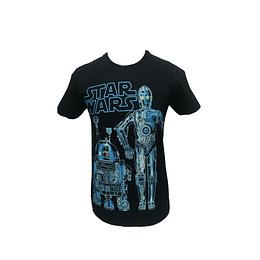 Polera Star Wars - R2-D2/C-3PO