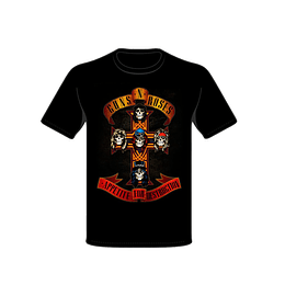 Polera Guns and Roses Appetite for destruction