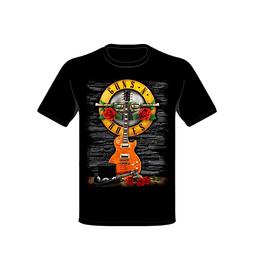 Polera Guns N´ Roses Guitar & Hat