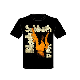 Polera Black Sabbath Vol 4