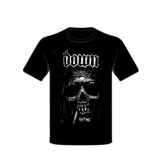 Polera Down Jesus Skull