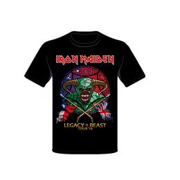 Polera Iron Maiden Legacy of the beast tour 2019
