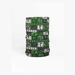 Bandana Multifuncional Rupestre Verde