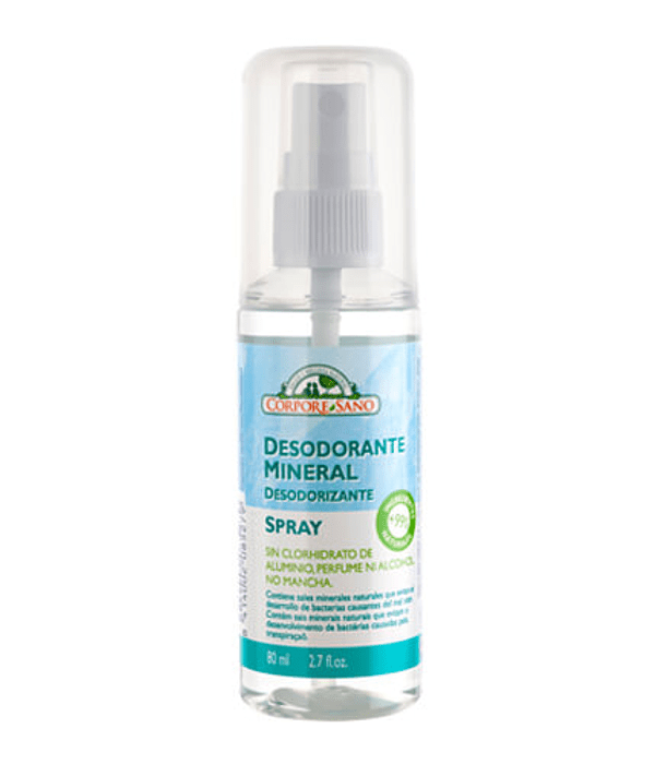 Desodorante Spray mineral