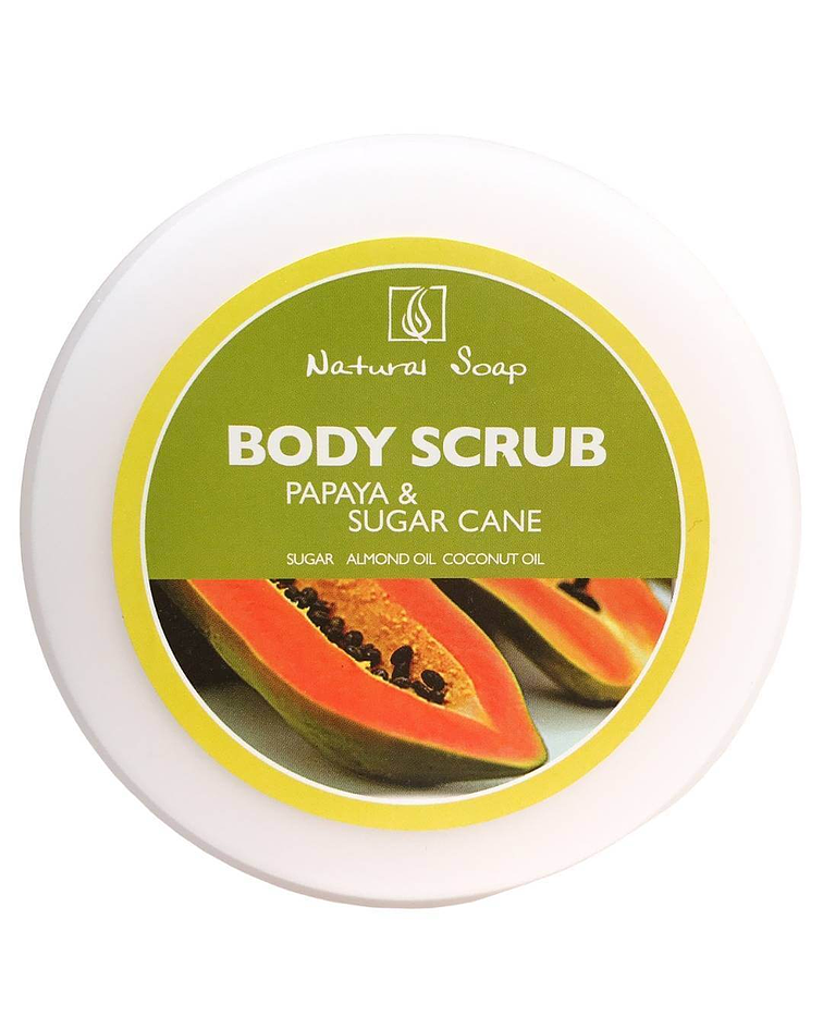 Exfoliante Papaya Sugarcane