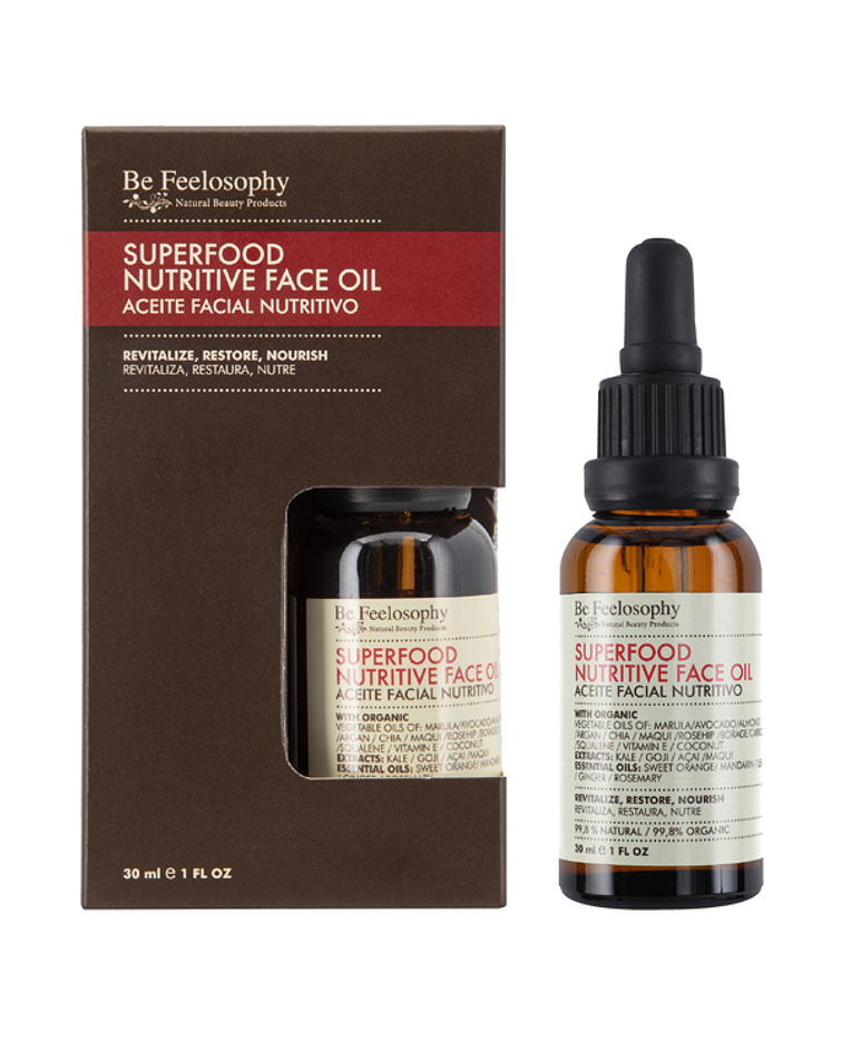 Aceite facial nutritivo Superfood