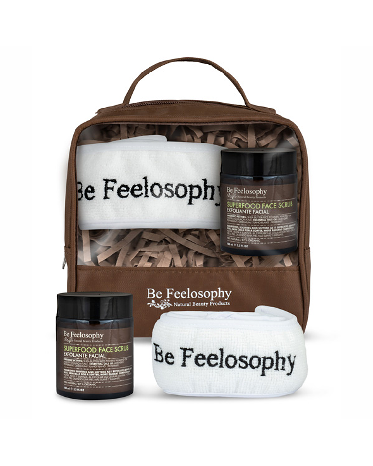 Set exfoliación facial Superfood