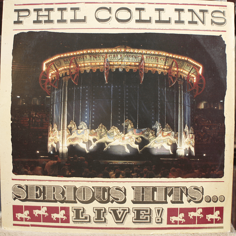 Phil Collins – Serious Hits... Live!