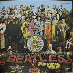 Beatles ‎– Sgt. Pepper's Lonely Hearts Club Band (Ed. Japón)
