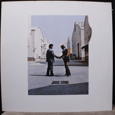 Pink Floyd ‎– Wish You Were Here (1a Ed Alemania)