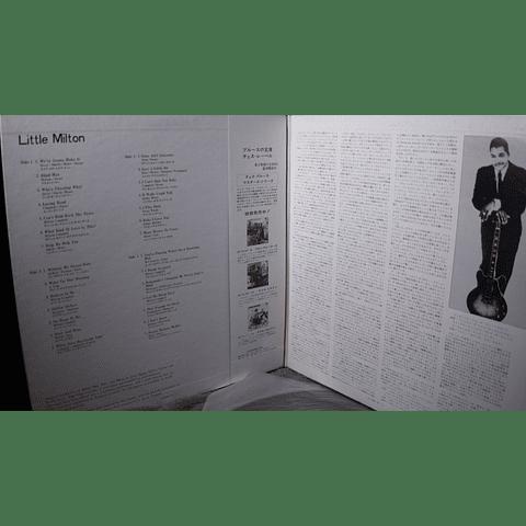 Little Milton - Chess Blues Master (Ed Japón OBI)