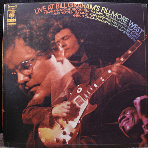 Michael Bloomfield, Nick Gravenites, Taj Mahal, Various ‎– Live At Bill Graham's Fillmore West (ed Japon)