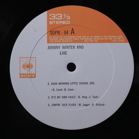 Johnny Winter And - Live (Ed Japón)