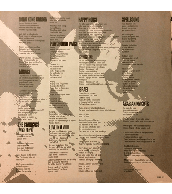 Siouxsie And The Banshees – Once Upon A Time/The Singles