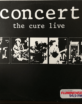 Cure ‎– Concert - The Cure Live