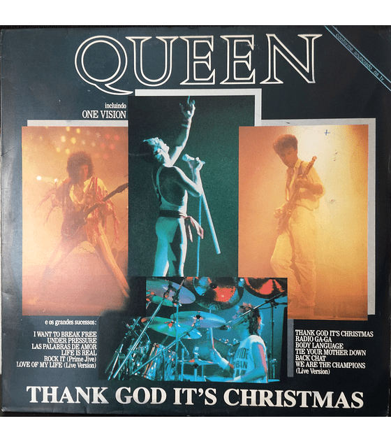 Queen ‎– Thank God It's Christmas