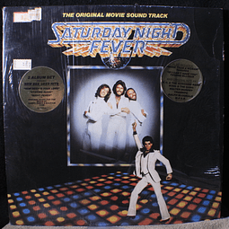 Bee Gees / Various ‎– Saturday Night Fever (The Original Movie Sound Track) 1a ED USA