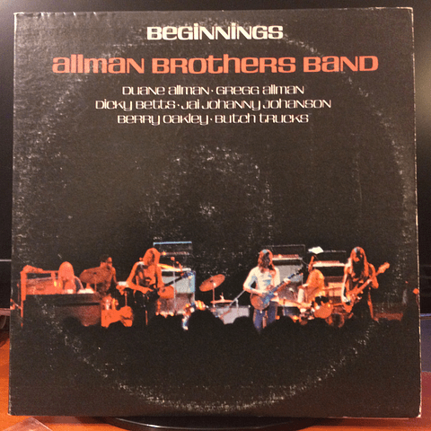 "Allman Brothers Band ‎– Beginnings (2LPs  ""The Allman Brothers Band"" (SD 33-308) + ""Idlewild South"" (SD 33-342) )"