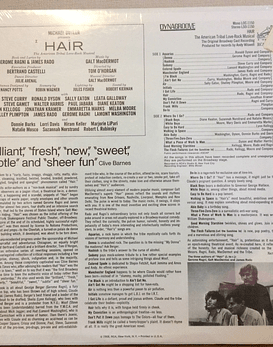 Various ‎– Hair - The American Tribal Love-Rock Musical