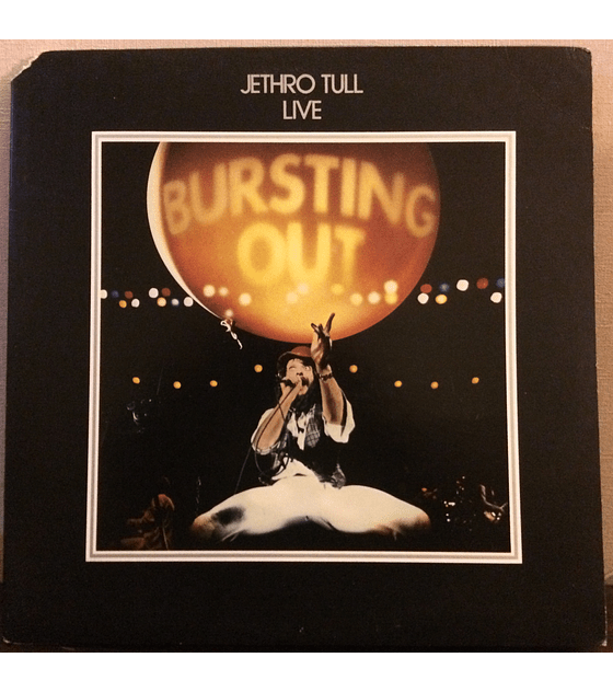 Jethro Tull ‎– Live - Bursting Out