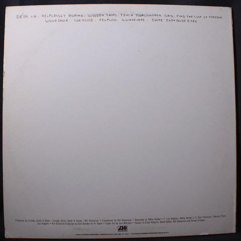 Crosby, Stills, Nash & Young – So Far (Ed USA)