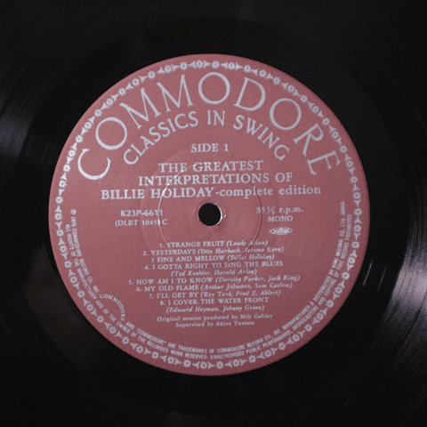 Billie Holiday ‎– The Greatest Interpretations Of Billie Holiday - Complete Edition