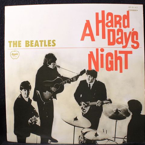 Beatles ‎– A Hard Day's Night (Ed Japópn)