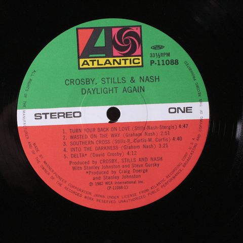 Crosby, Stills & Nash ‎– Daylight Again