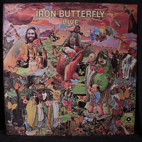 Iron Butterfly – Live (1a Ed USA)