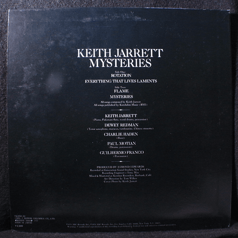 Keith Jarrett – Mysteries
