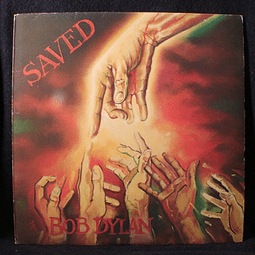 Bob Dylan ‎– Saved (Ed UK)