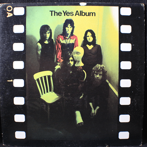 Yes ‎– The Yes Album (Ed USA 77)