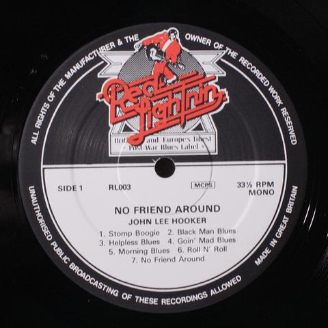 John Lee Hooker – No Friend Around (UK)