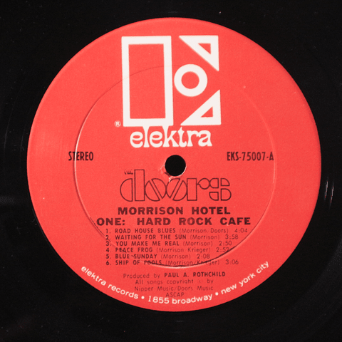 Doors, The ‎– Morrison Hotel (1 Ed USA 1970)