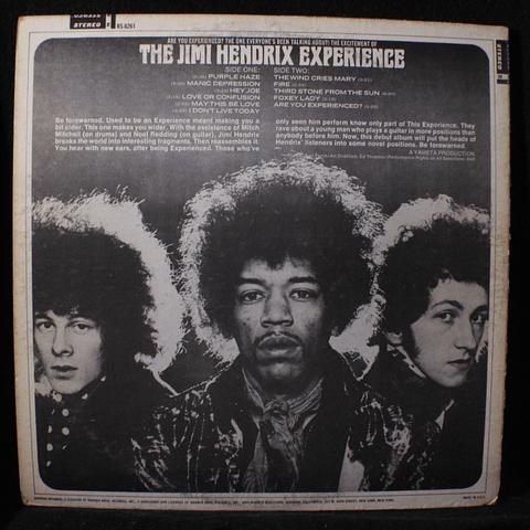Jimi Hendrix Experience – Are You Experienced? (Ed USA 79)