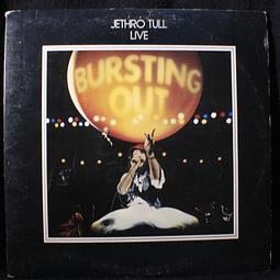 Jethro Tull – Live - Bursting Out (1a Ed USA)