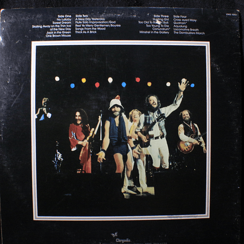 Jethro Tull ‎– Live - Bursting Out (1a Ed USA)