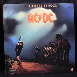 AC/DC ‎– Let There Be Rock (ed USA 70s)